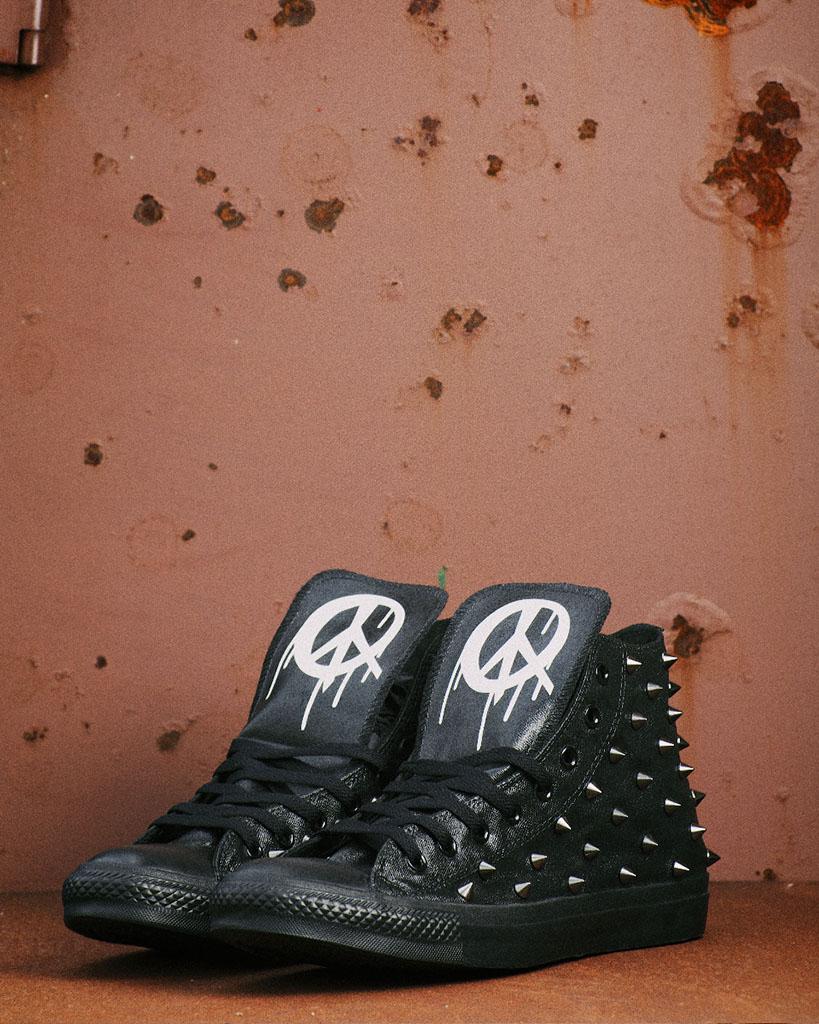 dbafadde884b Converse Chuck Taylor All Stars for Wiz Khalifa by Brush Footwear ...