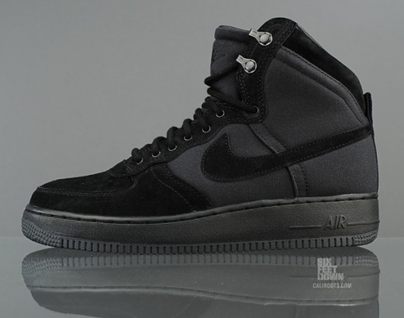 buy online a6124 0c55e Nike Air Force 1 High Military Boot Black