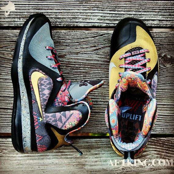 "ec5ecaacac7 Nike LeBron 9 ""Invictus"" Customs By GourmetKickz"