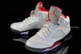 Air Jordan V Retro – White/Black/Red – New Images